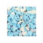 Dextrose | Vruchtenhartjes | Blauw/Wit | 1 kg