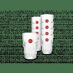 Douwe Egberts Latte Macchiato glazen 12 stuks