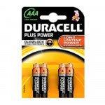 Duracell Plus AAA MN2400, 4 stuks à 10 verp.