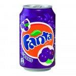 Fanta Cassis blik, 33cl à 24 stuks