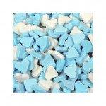 Fortuin | Vruchtenhartjes | Blauw/Wit | 1 kg