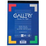 Gallery   Schrijfblok   A4 Gelijnd   100 vellen