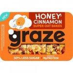 Graze | Super Oat Bakes | Honey Cinnamon | Reep | 6 stuks