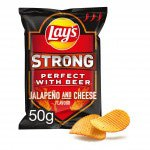 Lay's strong jalapeno and cheese
