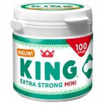 King | Mini Pepermunt | Extra Strong | 4 potten