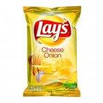 Lays Cheese Onion 175 gram 8 stuks