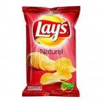 Lays Naturel, 175 gram à 8 stuks
