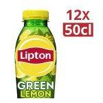 Lipton | Ice Tea Green Lemon | 12 x 0.5 liter