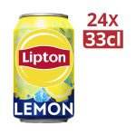 Lipton Ice-Tea | Lemon | No Bubbles | 24 x 33 cl