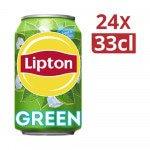 Lipton Ice Tea Green Pure blik 33 cl 24 stuks