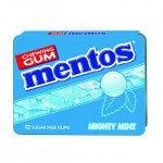 Mentos | Gum | Mighty Mint | Blister | 12 stuks