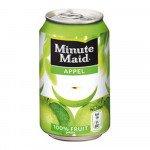 Minute Maid Appelsap Blik 0,33 liter 24 stuks