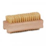 Nagelborstel hout fiber dubbele inzet