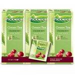 Pickwick Groene thee Cranberry 75 stuks