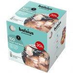 Bolsius | Relight Refill Plus | Transparant kaarsen | Navulling 100 stuks
