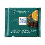 Ritter Sport | Amandel Sinaasappel | 12 x 100 gram