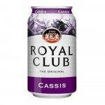 Royal Club Cassis 33 cl blik 24 stuks