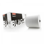 Satino black handdoekrol 2 lgs 175m 19.3 cm 3 rol