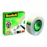 Scotch Magic Tape plakband 19 mm x 33 m 6 stuks