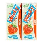 Wicky | Pakjes | Aardbeidrink | 30 x 20 cl