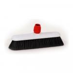 Zaalveger kunststof 40 cm zwart haar