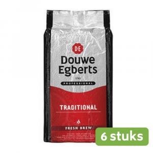 Douwe Egberts   Fresh Brew Traditional   Pak 6 x 1 kg