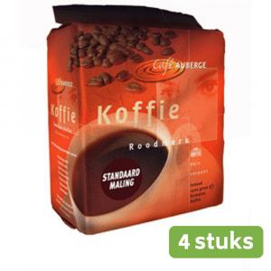 Café Auberge Standaard 4 x 1,5 kg