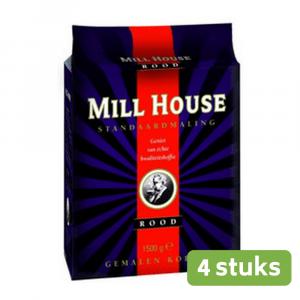 Millhouse rood standaard 4 x 1,5 kg