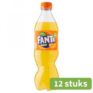 Fanta Orange | Petfles 12 x 0,5 liter