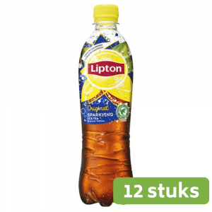 Lipton Ice Tea Sparkling | Petfles 12 x 0,5 liter