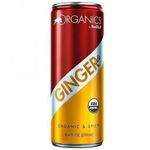 Red Bull Organics Ginger Ale 250 ml 12 stuks