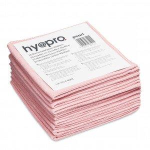 Microvezeldoek Roze 40 x 40 cm 8 x 10 stuks