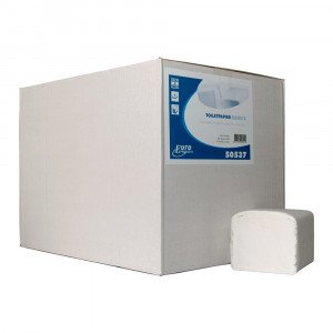 Toiletpapier 2-laags Bulkpack Tissue wit 36 x 250 vel