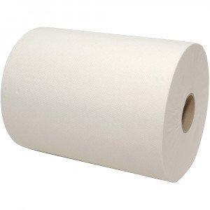 Handdoekrol mini matic wit XL 2-lgs cellulose