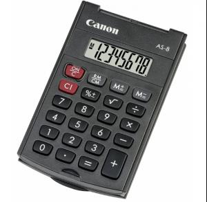 canon AS-8 rekenmachine zakmodel