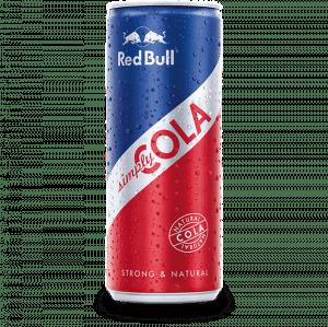 Red Bull Organics Simply Cola 250 ml 12 stuks
