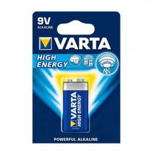 Varta High Energy E-block 6LR61, 1 stuks à 10 verp.