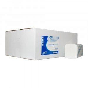 Vouwhanddoekjes 2-laags Interfold cellulose 22x32 cm à 3200 st