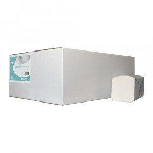 Vouwhanddoekjes 3-laags Interfold 22x32cm 2560 st